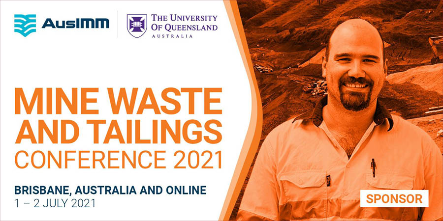 How to find us at the Mine Waste Tailing Conference, 2021